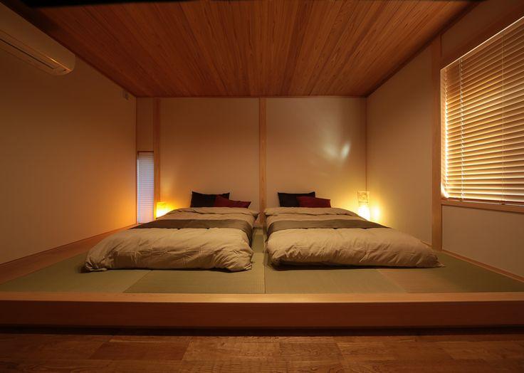 寝室に畳コーナー