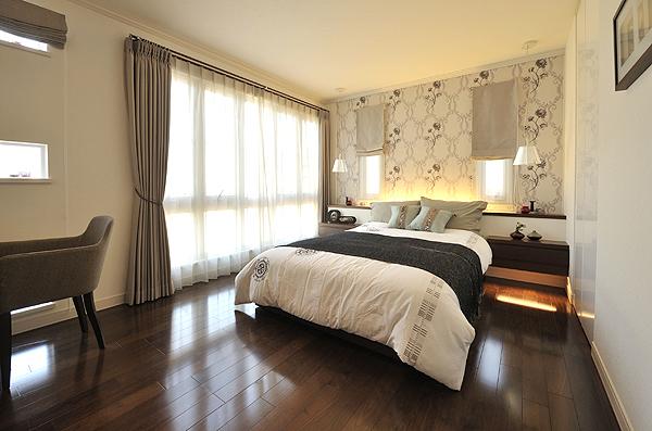 寝室の配色