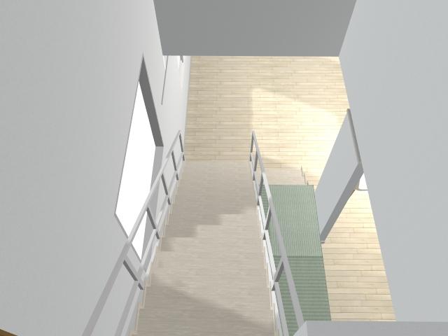 階段吹き抜け