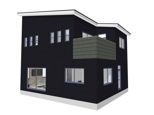 家を安く建てるための外観