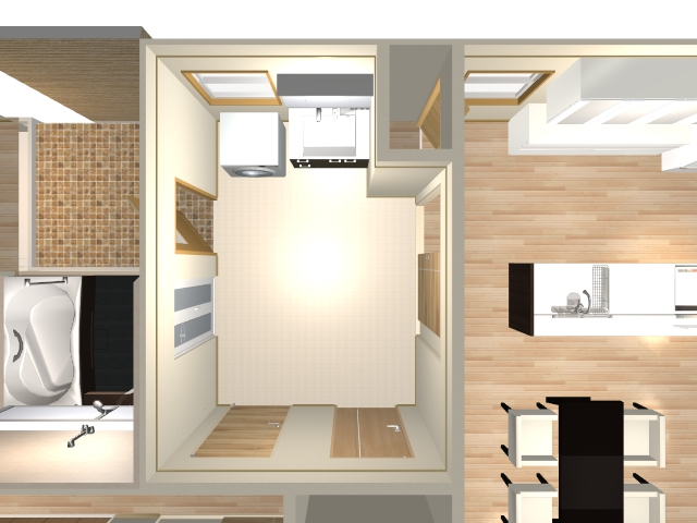 5.6畳の家事室