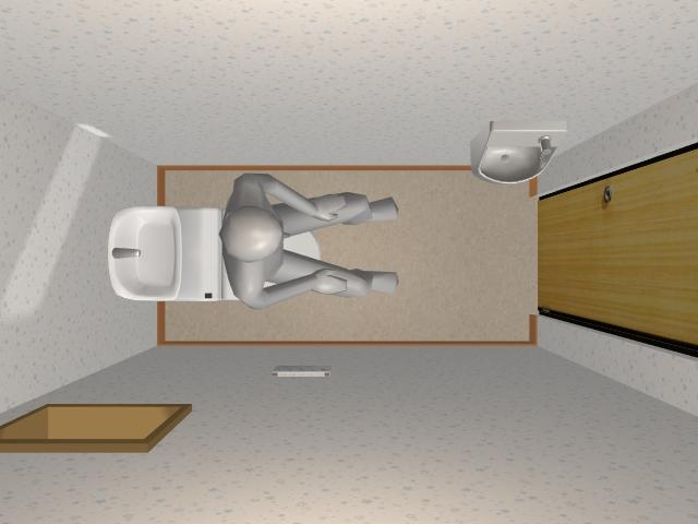 メーターモジュールの1.0畳トイレ