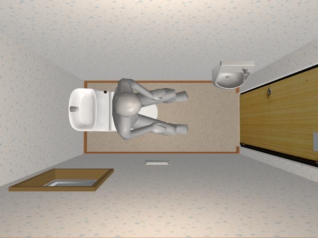 1.0畳トイレ