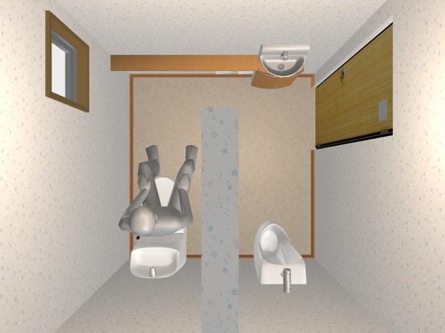 2.0畳トイレ