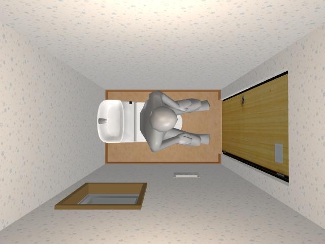 0.75畳トイレ