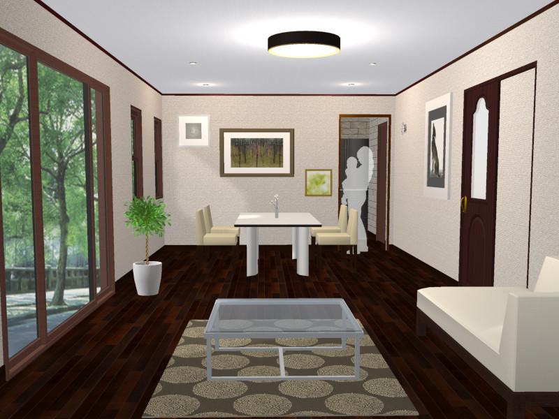 壁付キッチン独立型イメージ