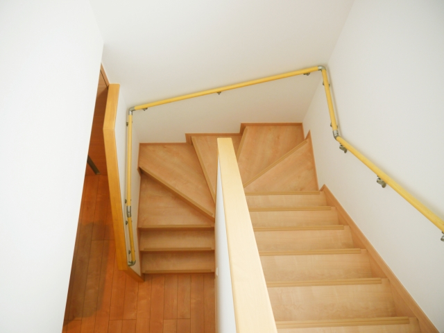 階段と階段ホール