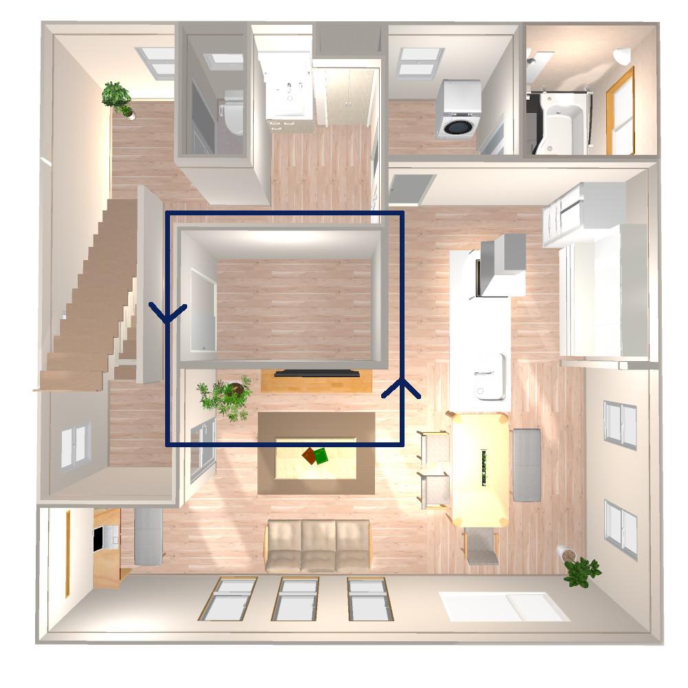 2階鳥瞰図