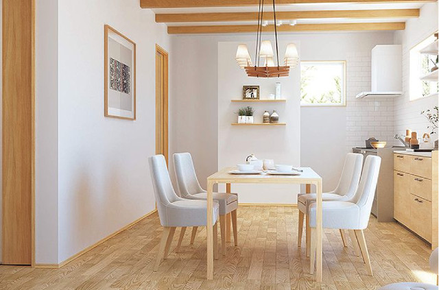 巾木コーディネート:白い部屋