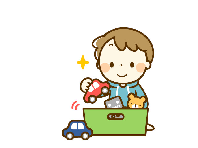おもちゃ遊び