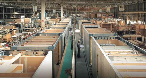 セキスイハイムの工場生産